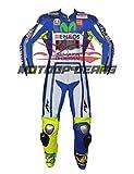 Valentino Rossi 2015 Motorrad Motorradrennen Lederkombi