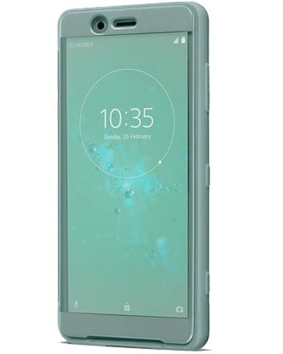 Image of Sony STYLE COVER TOUCH (XPERIA XZ2 COMPACT GREEN), 1312-4693 (XZ2 COMPACT GREEN))