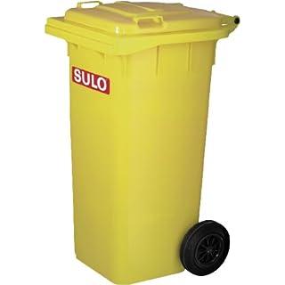 SULO Umwelttechnik GmbH & Co. KG Müllgroßbehälter 120l gelb a. Niederdruck-PE Rad-D. 200mm