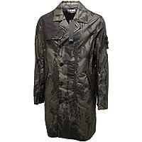 5734P giubbotto trench STONE ISLAND verde camouflage giacca uomo jacket coat men - Stone Island Verde