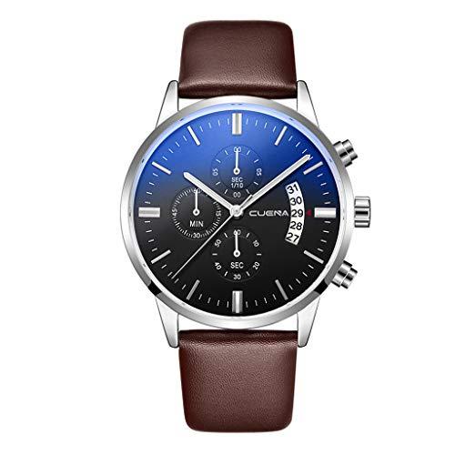 UINGKID Collection Unisex-Armbanduhr Herren Uhren Ultra Dünne Luxusuhren Quarzuhr Edelstahl Zifferblatt Casual Bracele Uhr