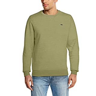 Lacoste Sport Men's Sh7613 Sweatshirt, Grey (Peuplier APL 04c), X-Small (Size: 2)