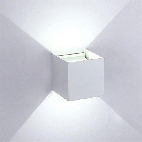 Preisvergleich Produktbild K-Bright LED Wandleuchte,  auf und ab Design,  12W,  6000K-6200K,  Innen-LED-Wandbeleuchtung,  wasserdichte IP 65 Outdoor-Wandleuchte,  kaltweiß