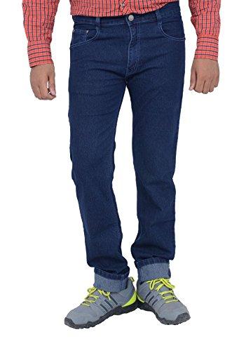 Studio Nexx Men's Denim Regular Fit Jeans -Dark Blue, (36)  available at amazon for Rs.699