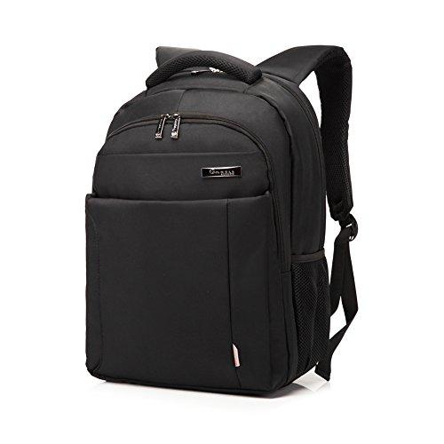 Imagen de  de ordenador portátil  de viaje de negocios, 15,6 pulgadas negro impermeable bolso de hombro resistente para la escuela, trabajo, viajes