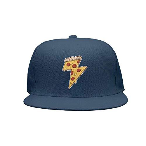 Mann Thunder Kostüm - dfegyfr Cool Thunder Cheesy Pizza Adult Trucker Mesh Baseball Kappen Hut Multicolor78