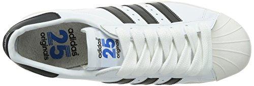 Adidas Superstar 80s Nigo chaussures blanc noir