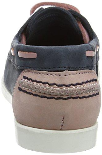 Chatham Rosanna, Chaussures Bateau Femme Blue (navy/pink)