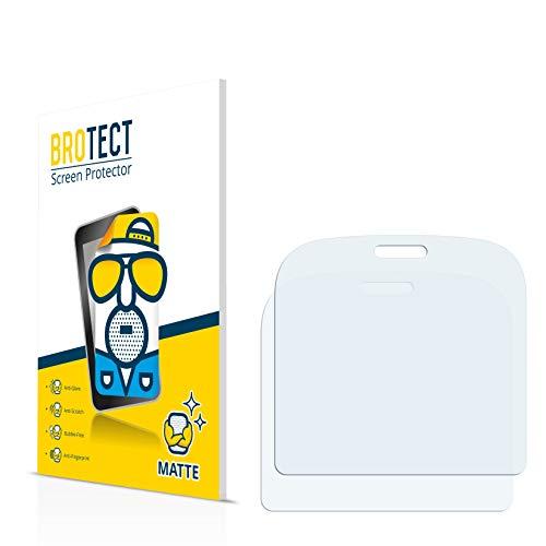 BROTECT Schutzfolie Matt für Doro 1361 Displayschutzfolie [2er Pack] - Anti-Reflex Displayfolie, Anti-Fingerprint, Anti-Kratzer