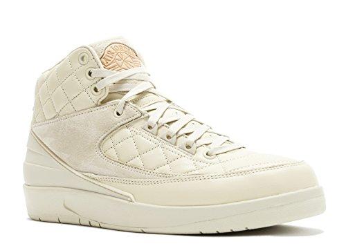 Nike Air Jordan 2 Retro Just Don, Scarpe da Basket Uomo, Beige (Beach/Metallic Gold-Unvrsty Rd), 48 1/2 EU