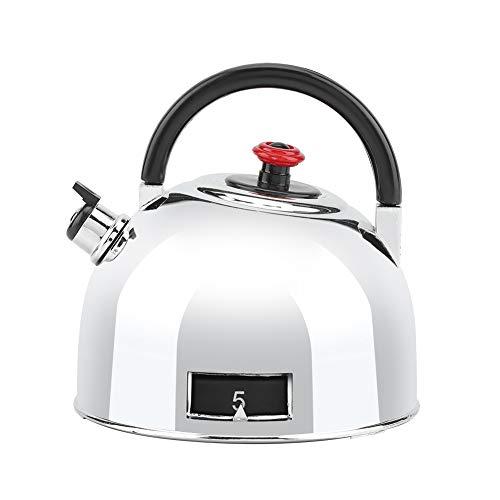Jeffergarden Teekanne geformt 60 Minuten Küchentimer Edelstahl Mechanisch Aufzieh-Timer Zeiterinnerung