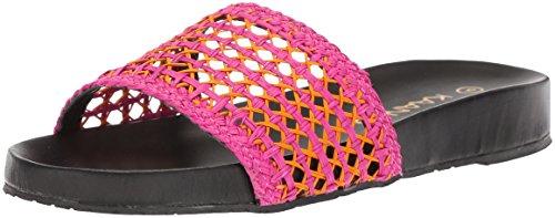KAANAS Women's Akumal Woven Pool Slide Sandal