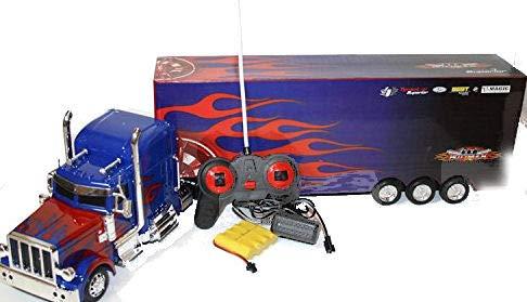 Unbekannt RC Lastwagen USA Freightliner Ferngesteuerter Truck 69cm Länge- Hammerbeleuchtung