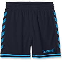 Hummel Joven Pantalones Cortos Sirius, niño, Sirius Shorts, Total Eclipse/Methyl Blue, 116 - 128