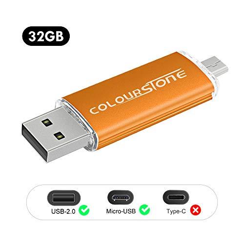 OTGMemoria USB 2.0, Colourstone 32GB Pendrive Puerto