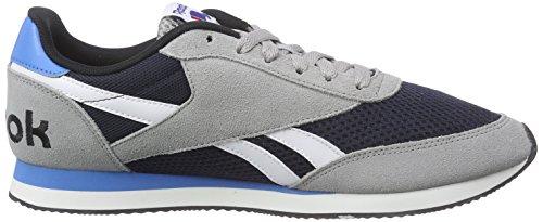 Grau Elétrica El Royal Blanco Del Azul Correr Hombre Classic Basculador Azul Marino Al Reebok Gris Negro estaño Zapatos Para Gris nvqxHq