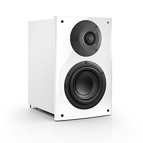 Nubert nuVero 30 Regal-/Dipol-Lautsprecher 2-Wege (2 x 2.6cm Hochtöner,15cm Tieftöner,150/210Watt) Stück, Kristallweiß