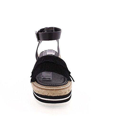 Sixty Seven 77921, Chaussures Habillées Femme Noir - Suede negro/Pobur negro
