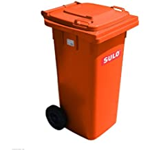 Mülltonne Müllbehälter 120 l orange