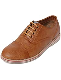 Bacca Bucci Men Tan Synthetic Leather Casual Shoes