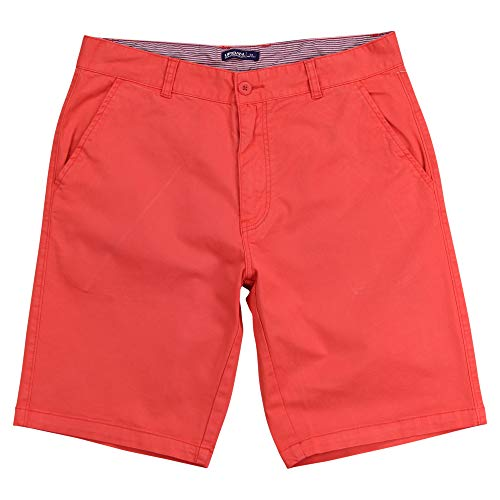 Urban Boundaries Herren Chino Shorts Flat Front - - 52 -