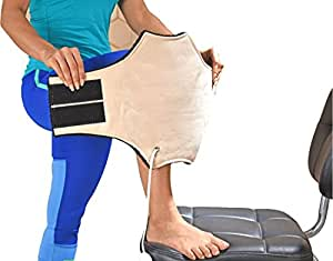 JSB Electric Heating Pad for Knee Pain Relief Orthopedic Heat Belt, Free Size (H11)