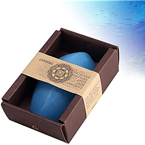 F&HY&L Menta aceite esencial jabón hecho a mano de JABÓN JABÓN hidratante y lifting reafirmante. control de aceite. limpieza. arruga
