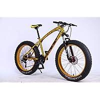 """MYTNN Fatbike 26"""" (66,04 cm) Dérailleur Shimano 21 vitesses Hauteur de cadre 47 cm VTT à gros pneus"""