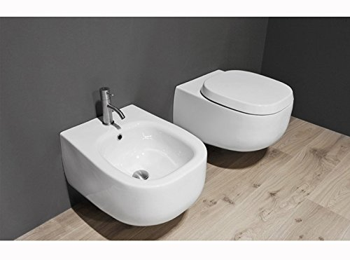 Antonio Lupi wall toilets and bidet Abol wall bidet ABOL2