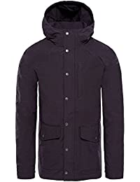 The North Face M Wax Cnvs UTLTY JKT Chaqueta, Hombre, Weathered Black, L
