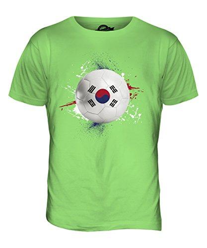 CandyMix Südkorea Fußball Herren T Shirt Limettengrün