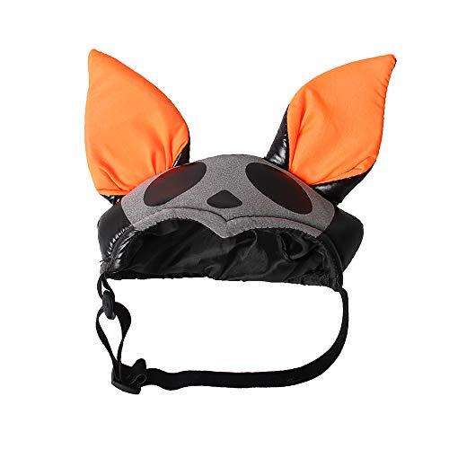 F.lashes Haustier Kostüm Hut Spinne Design Weicher Stoff Spinne Kürbis Hut Kostüm Accessoire für Katze Hunde ()