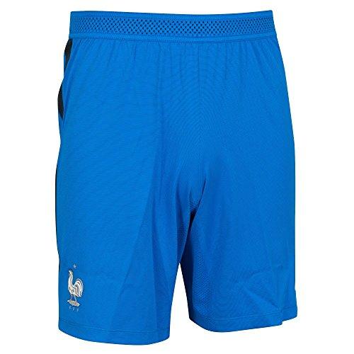 Nike FFF M H/A Vapor Match Short Pantalón Corto equipación de la línea Federación Francesa de fútbol, Hombre, Azul (Hyper Cobalt/Blanco), L