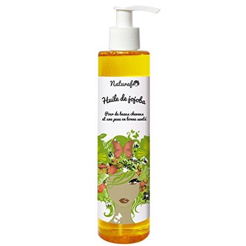 Huile de jojoba pour cheveux et visage - 100 ml, Bouchon pompe