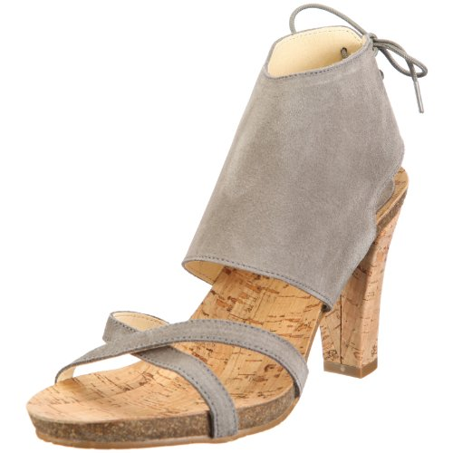 John W. Shoes Leticia 1083, Sandales mode femme Gris-TR-C1-34
