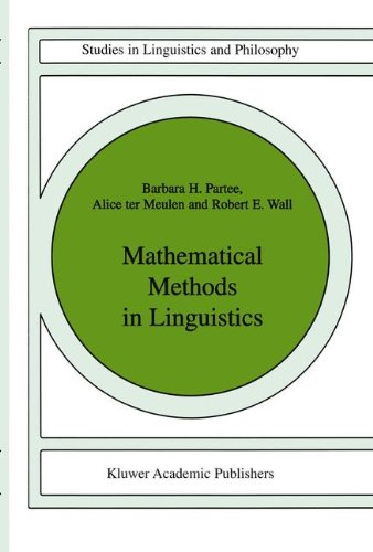 mathematics and linguistics The graduate program of the uc san diego department of linguistics combines thorough training in theoretical linguistics and formal mathematics and.
