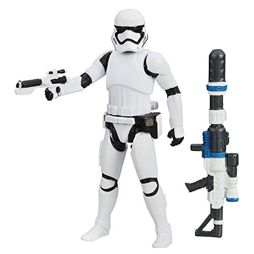 Hasbro Star Wars The Force Awakens 2015 First Order Stormtrooper mit 2 Zubehör (Stormtrooper Force Awakens Kostüm)