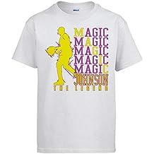 Camiseta Magic Johnson Leyenda del Baloncesto