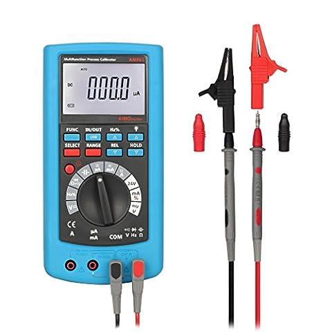2-en-1 Tsing Professionnel Multimètre & Multifonctionnel Process Calibrator + DMM Digital Multimèter Haute Précision AMPX1