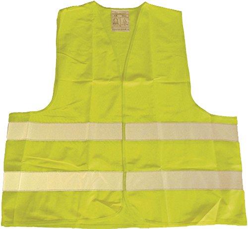 Kinderwarnweste gelb fluoreszierend, 3-6 Jahre