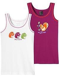 Schiesser 2pack Hemd 0/0 - Camiseta interior Niñas