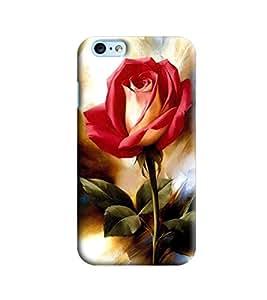 Blue Throat Rose Printed Designer Back Cover/Case For Apple iPhone 6 Plus