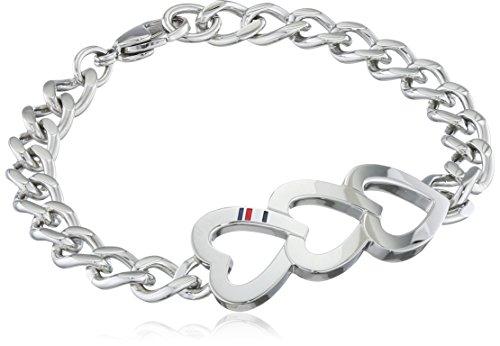 Tommy Hilfiger Damen-Armband Edelstahl 18 cm - 2700902