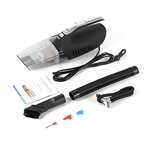 Car Vacuum Cleaner, LESHP 12V Vacuum Cleaner Portable Dust Buste Vacuum Hoover with Dust-absorption Pressure Measuring
