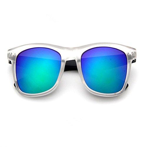 O-C Herren Sonnenbrille, Weiß