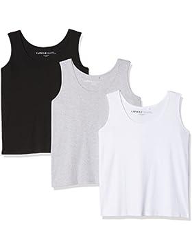 Simply Be, Camiseta de Tirantes para Mujer (Pack de 3)
