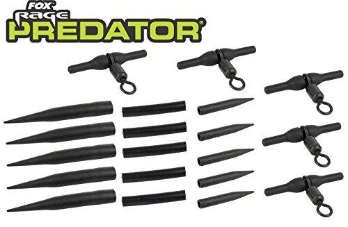Fox Rage Predator Rotary Uptrace Rig Kit, Hechtvorfächer, Heli Rig, Raubfischvorfach, Hechtmontage, Paternoster -