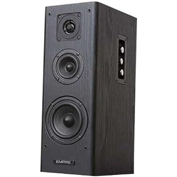 """Empire S-350 32W Black,Brown loudspeaker - loudspeakers (Universal, 3-way, 2.0 channels, Floor, Tabletop/bookshelf, Satellite, 2.54 cm (1""""))"""