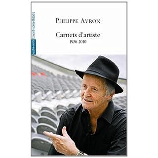 Carnets d'artiste : 1956-2010