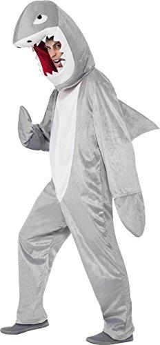 Imagen de smiffy's  disfraz para adulto con diseño tiburón, talla única 43815  alternativa